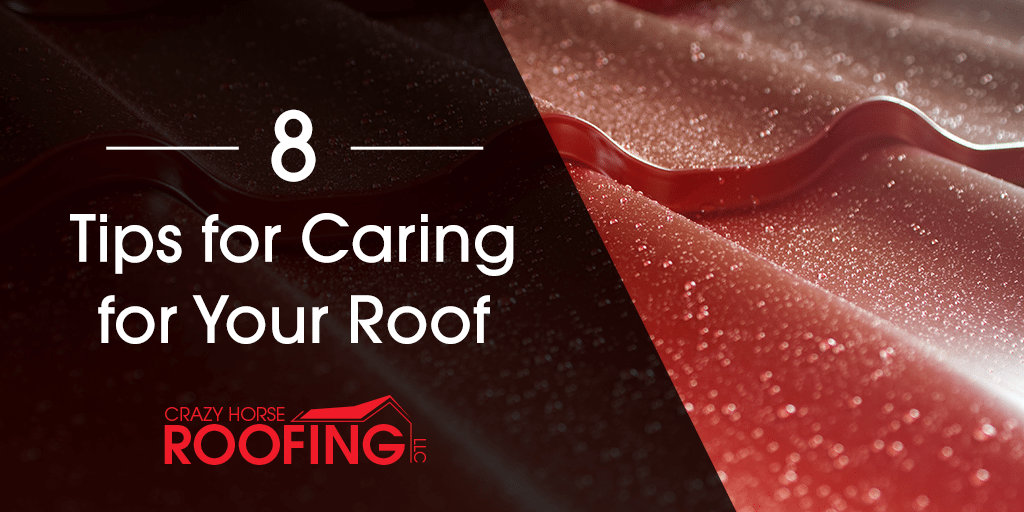 8 Tips For Caring For Your Roof