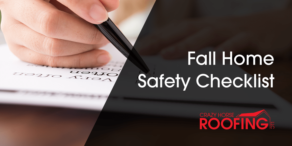 Fall Home Safety Checklist