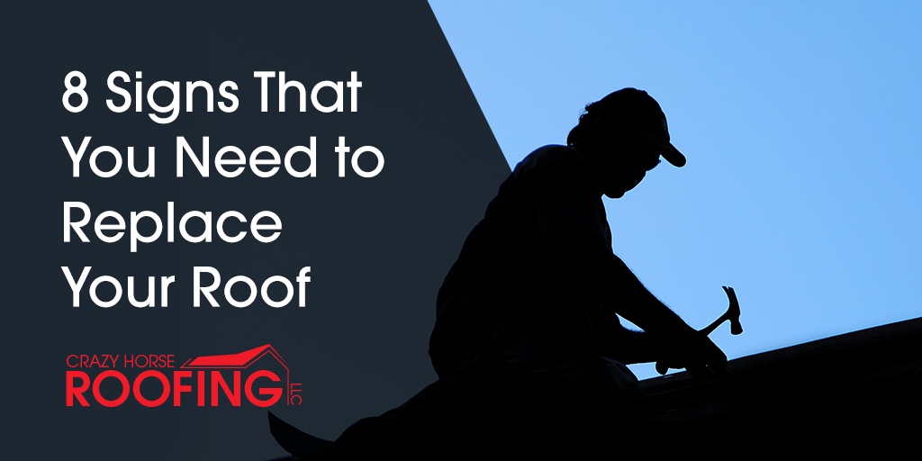 There will be times when simple repairs are enough to maintain your roof, but here are 8 signs that it's time for you to fully replace your roof.
