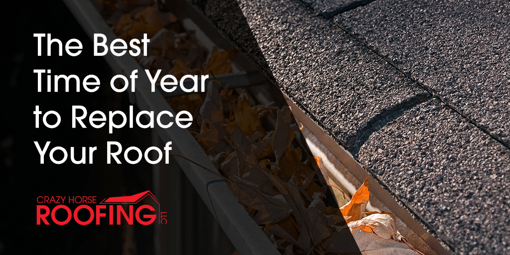 There is not a one-size-fits-all answer when you are trying to determine the best time of year to replace your roof, but here are some things to consider to help you figure out when to schedule your roof replacement.