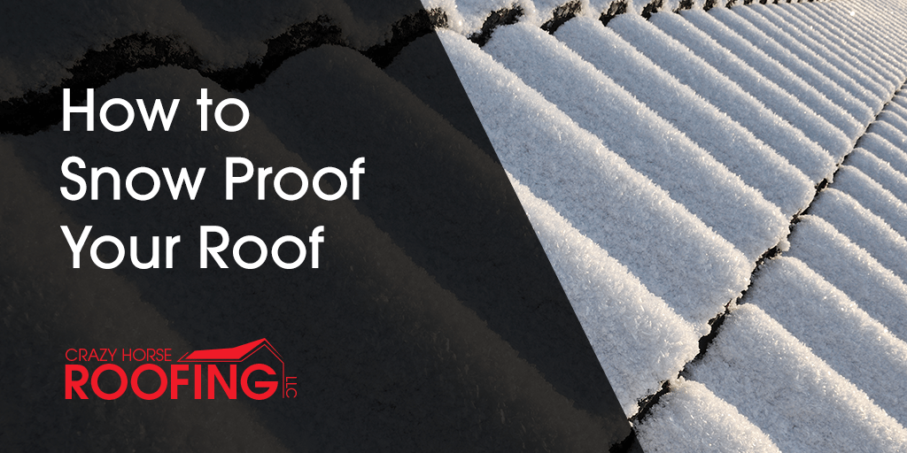 Even though Spring is trying to creep in here in Northern Colorado, snow has not left us yet. Here are some ways you can snow proof your roof to protect it from cold temperatures and heavy snow.
