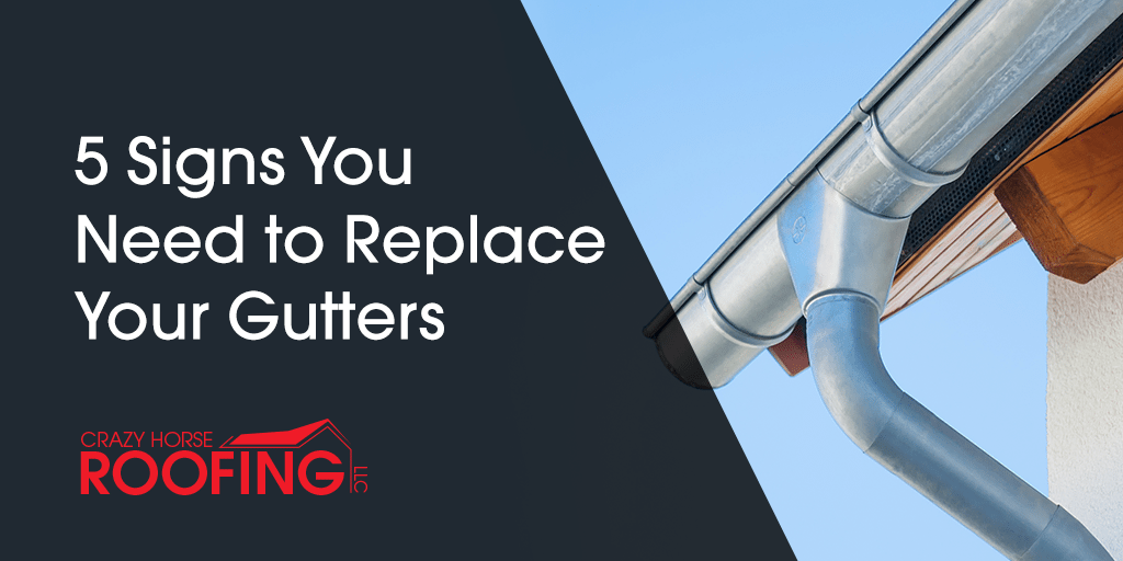 You may not know when your gutters were installed or what to look for to know if they need to be fixed or replaced. Here are 5 signs to let you know it's time to replace your gutters.