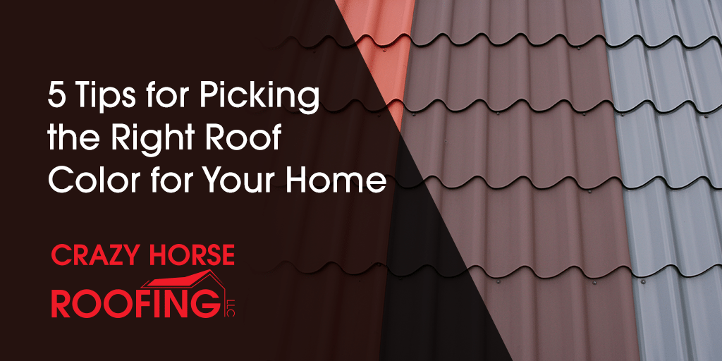 When you are replacing your roof, there are a lot of decisions you need to make, from choosing a trusted roofing company to picking the best type of roofing material for your home. Don't let picking a roof color be a stressor. Here are 5 tips for picking the right roof color for your home.