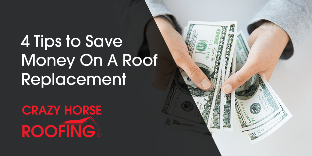 It's easy to put off replacing your roof because you know it will be an expensive project, but use these 4 tips to save money on a roof replacement.